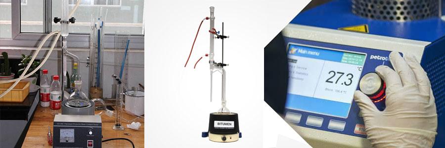 Bitumen Water Content Test In