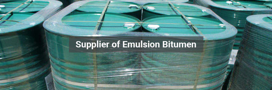 Emulsion Bitumen Supplier | Cationic Bitumen Emulsion